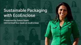 Thumbnail preview about Shopify for Startups: Sustainable packaging with EcoEnclose