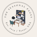 The Seasonal Pages Logo