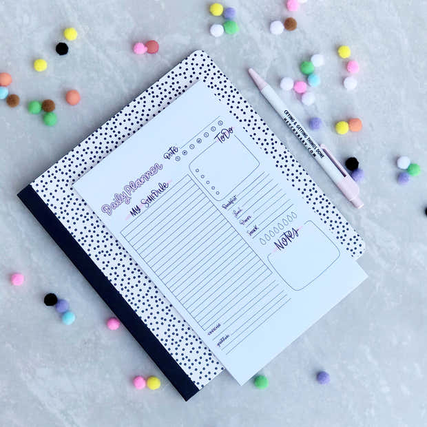 Daily Planner notepad 1