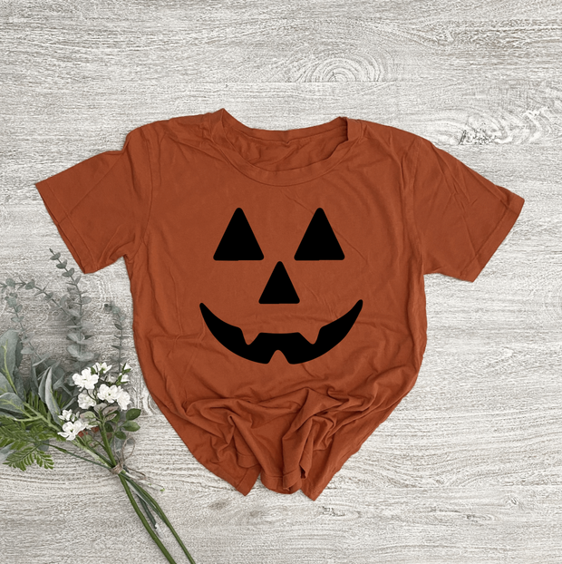 Jack-o-Lantern Women's Essential Tee   Mommy and Me 1