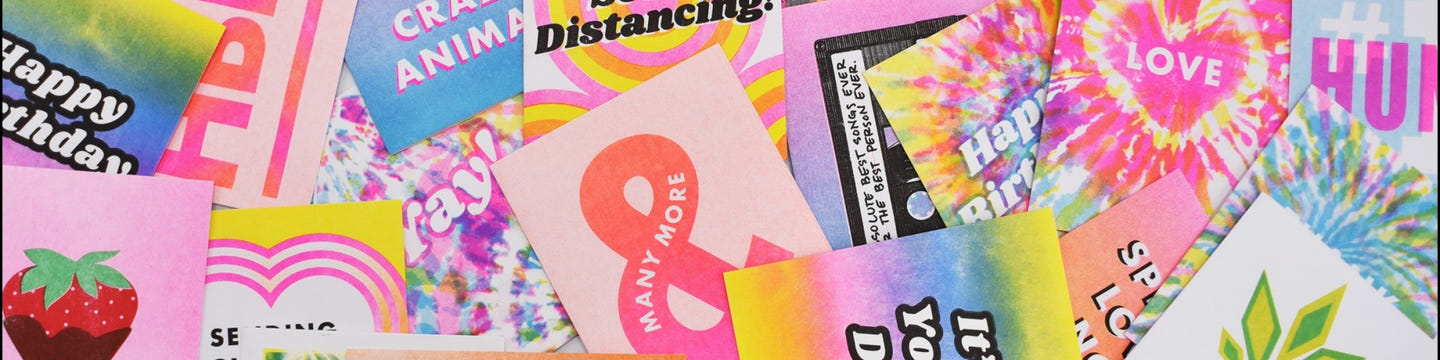 Next Chapter Studio - Eco-friendly Risograph Greeting Cards and Prints