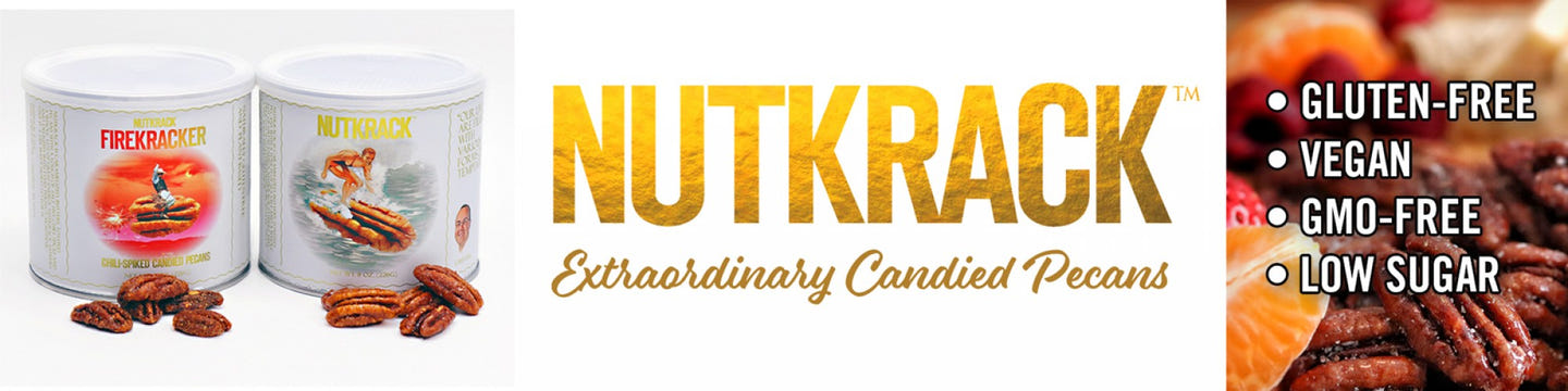 Nutkrack: Extraordinary Candied Pecans!