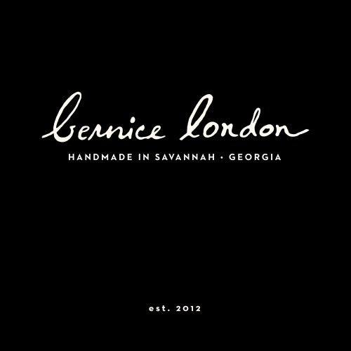 Bernice London Leather Logo