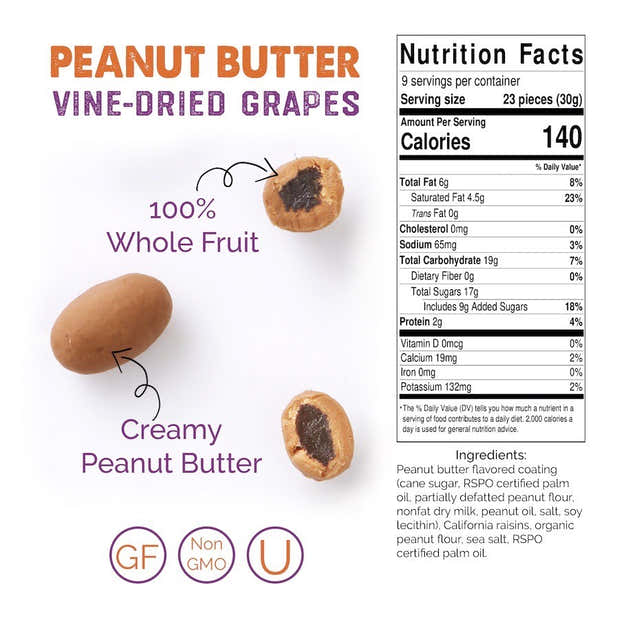 Peanut Butter Resealable Case (6ct) 1