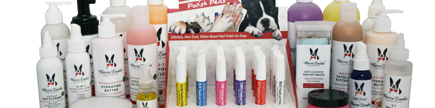 Warren London Dog Spa & Grooming Products