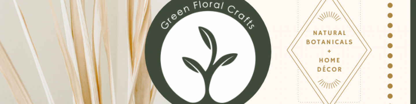 Green Floral Crafts