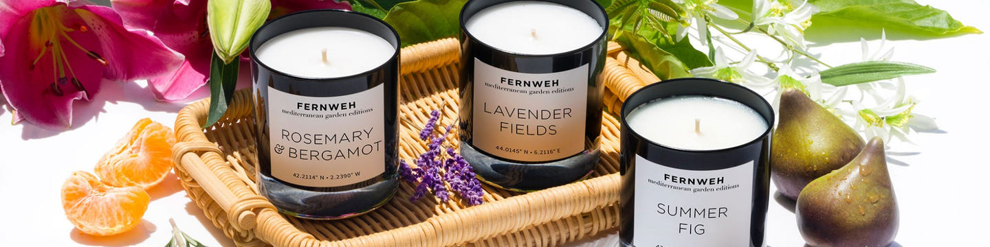 Fernweh Editions | Candles That Take You on a Journey