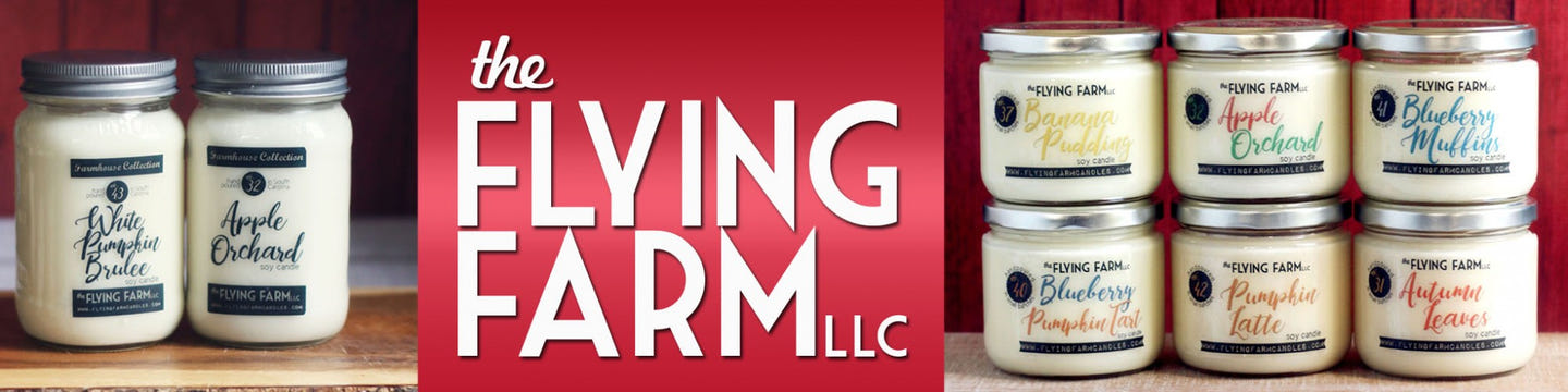 The Flying Farm Candles