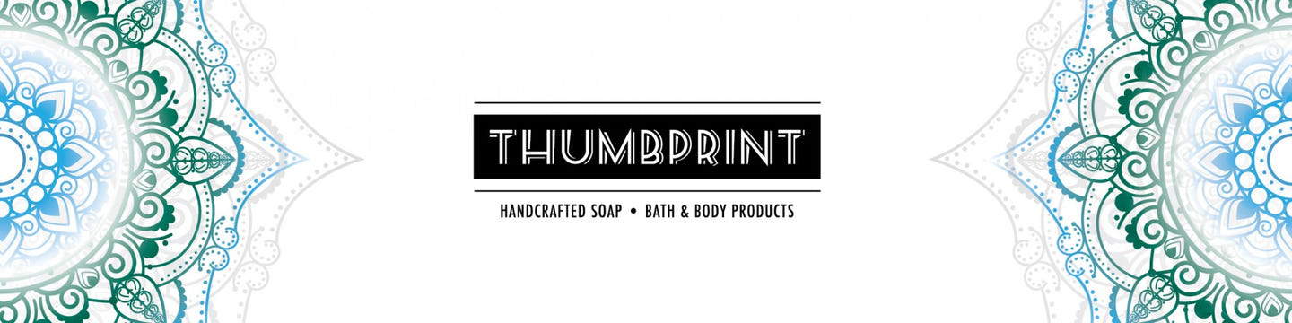 Thumbprint Soap