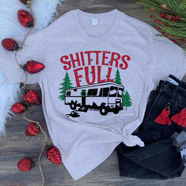 SHITTERS FULL Graphic Tees 1