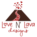 Love N' Lava Designs Logo