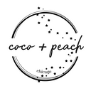 coco + peach jewelry Logo