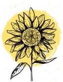 Sunflower Motherhood Logo
