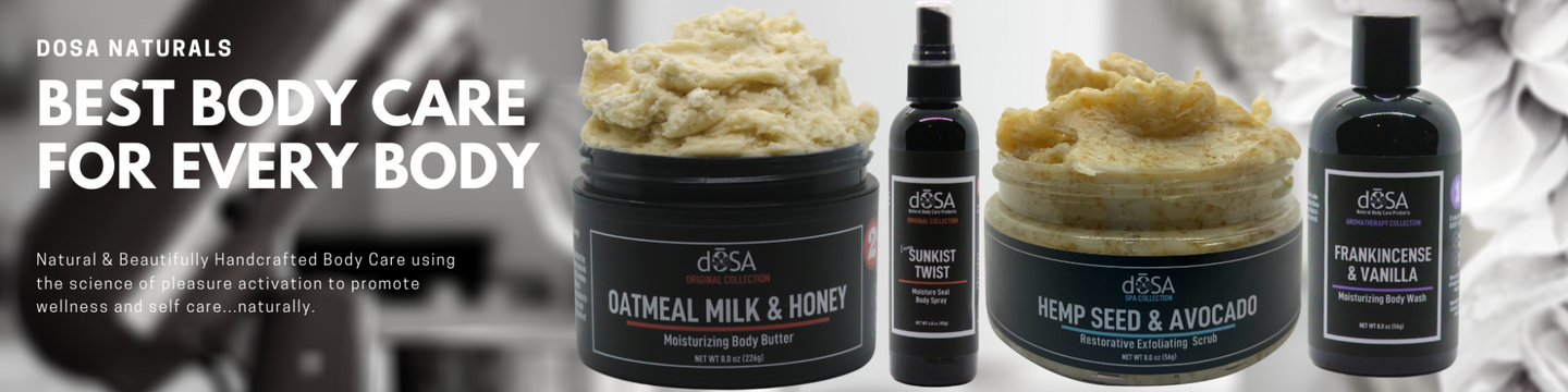 dOSA Natural Body Care Products