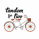 Tandem For Two Logo