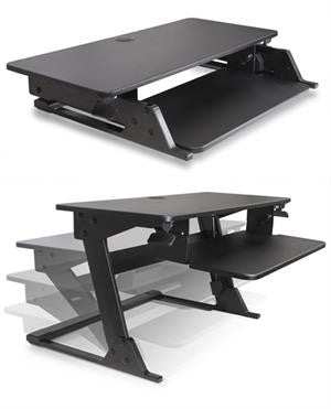 The King Desktop Sit-Stand Workstation
