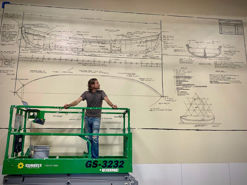 TreeBed Design and the Whale Boat Mural at Mare Island Brewing Co.