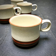 "Denby ""Potters Wheel"" Mug Set"
