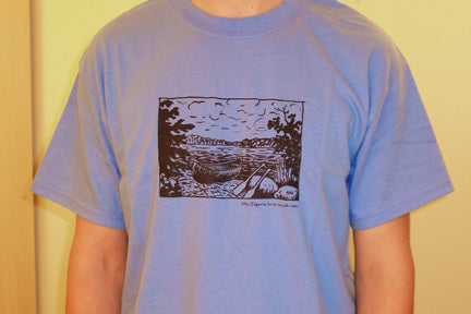 Blue Canoe T-Shirt