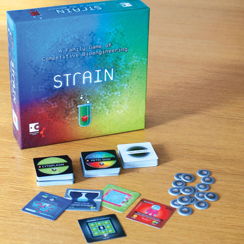 Strain : A Family Game of Competitive Bioengineering