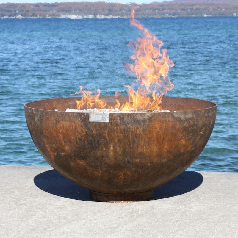 Big Bowl O Zen Sculptural Firebowl By John T Unger