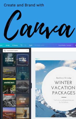 Create and Brand With Canva