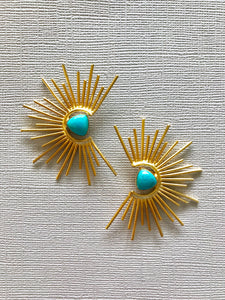 Sunburst Earrings