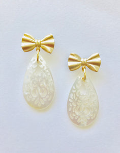 Bows | Lace  Earrings