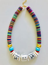Cabana Necklace | Carved Beads