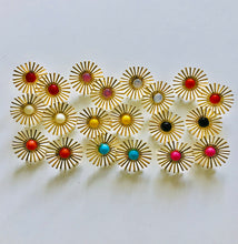 Sunburst Stud Earrings