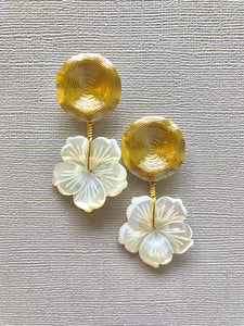 Pearl Bloom Earrings