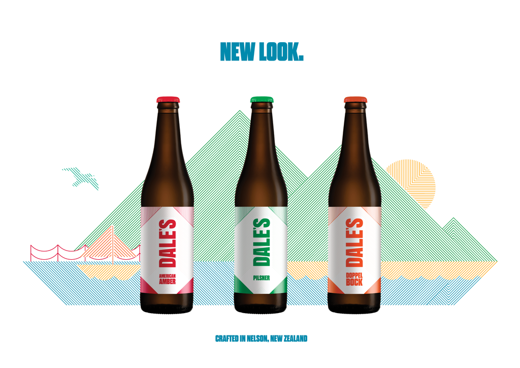 Rebrand, beer labels, and packaging design