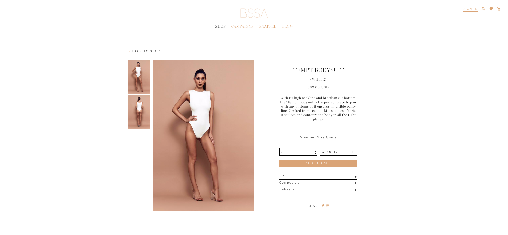 BSSA product page