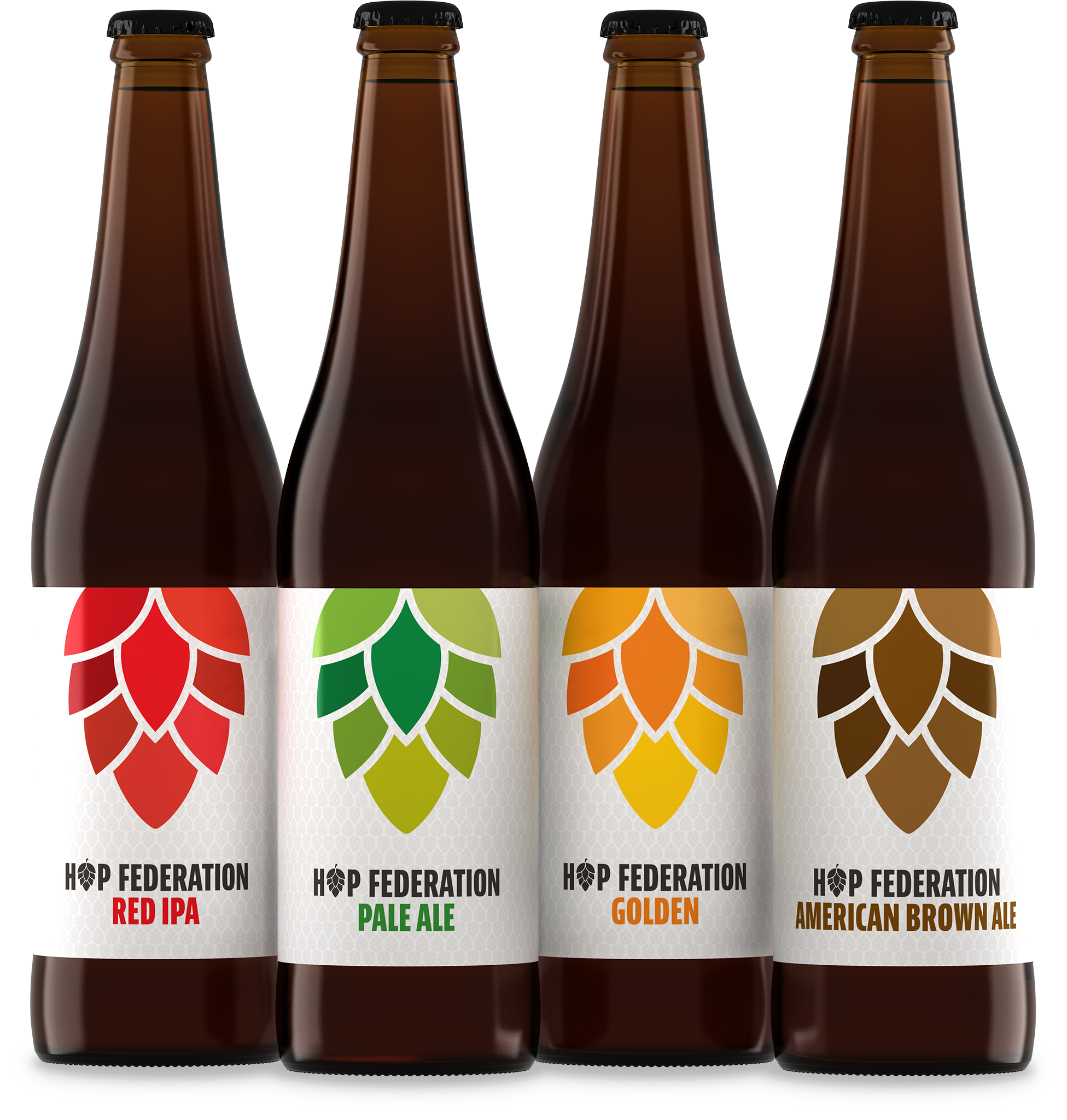 Hop Federation original core beer collection