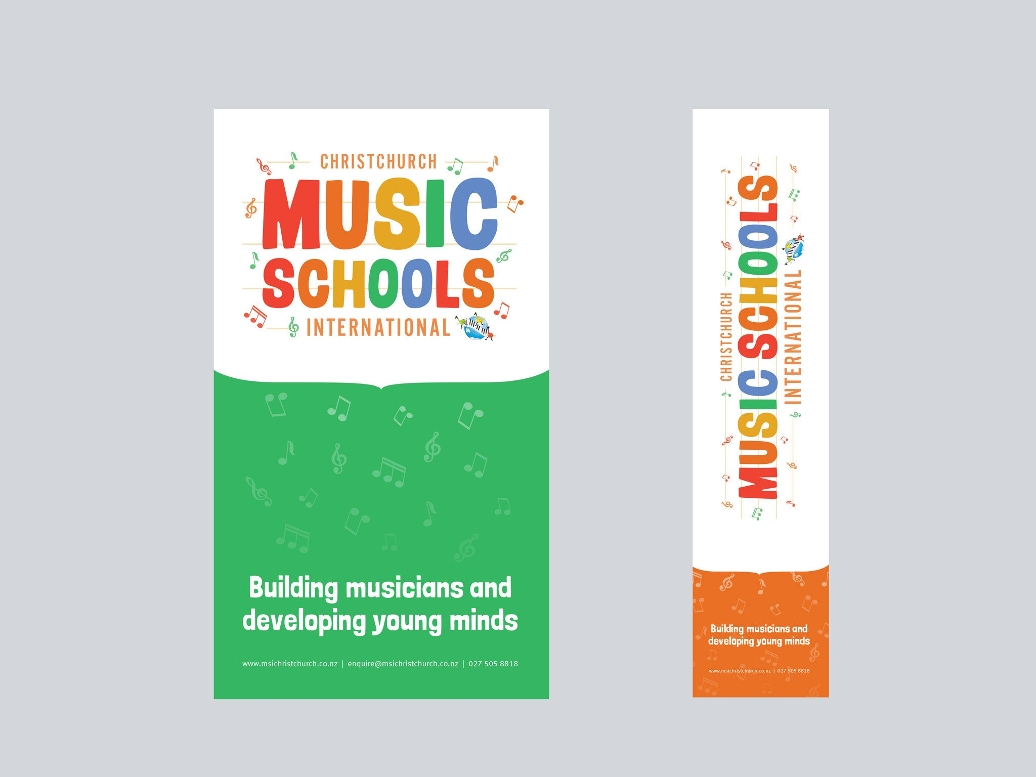 Music Schools International, Christchurch posters