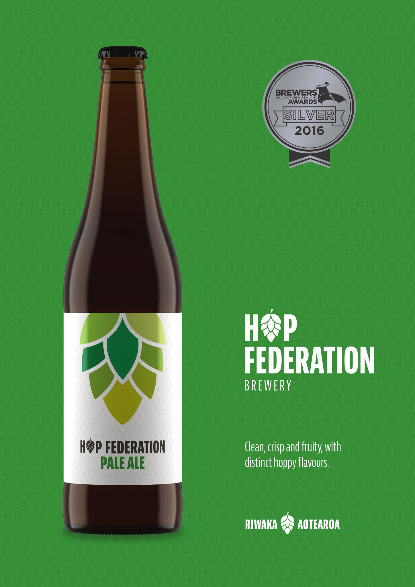 Hop Federation Silver Award Poster