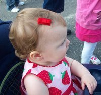 Baby Bow Barrette