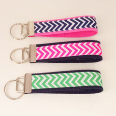 Chevron Key Fob