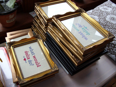 Miso Funky Cross Stitch Production Line | Claire Brown XStitch