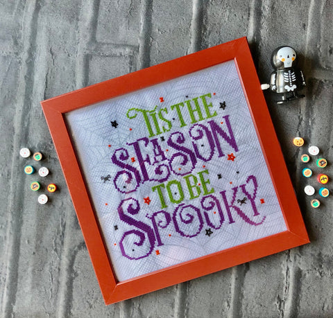Spooky Season At Claire Brown XStitch