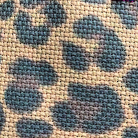 Leopard Print 14 Count Printed Cross Stitch Aida