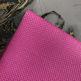 Hot Pink Printed 14 Count Cross Stitch Aida