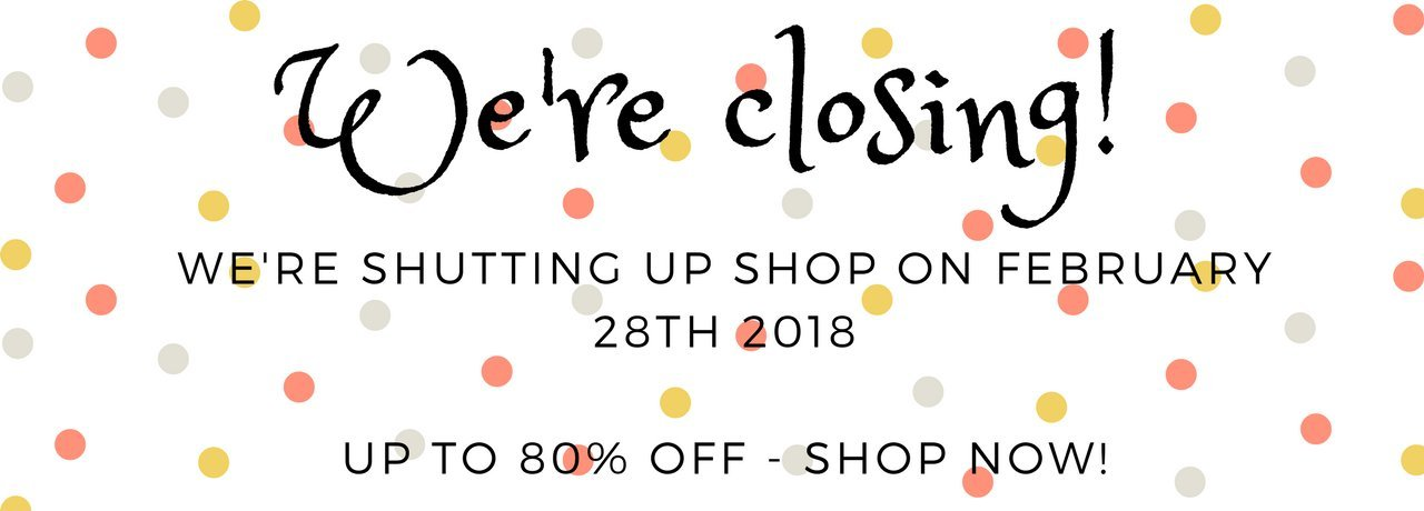 The Bellwether Is Closing (For Good This Time!) SHOP NOW!