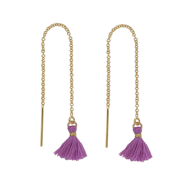 Tassel Ear Threaders