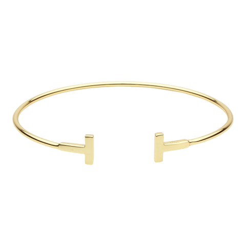Double Bar Thin Cuff