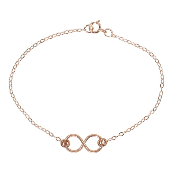 Infinity Bracelet on Regular Chain