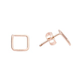 Square Wirewrapped Studs