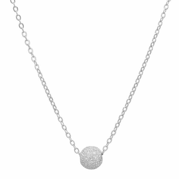Single Stardust Ball Necklace