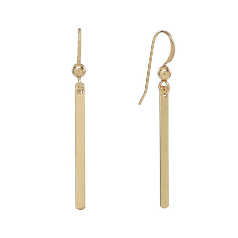 Thin Bar Earrings