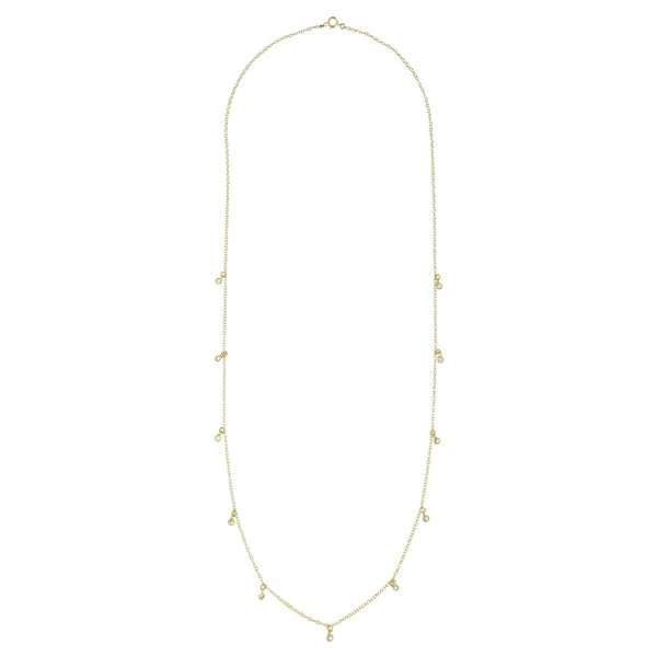 Long CZ Necklace